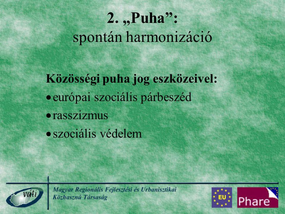 """2. """"Puha : spontán harmonizáció"""