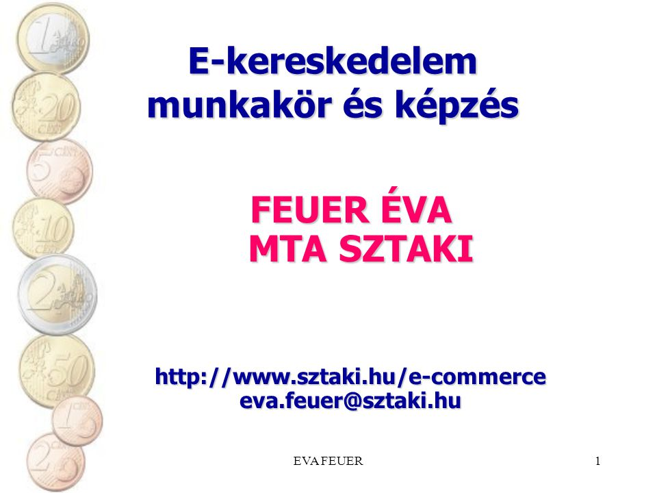 E-kereskedelem munkakör és képzés