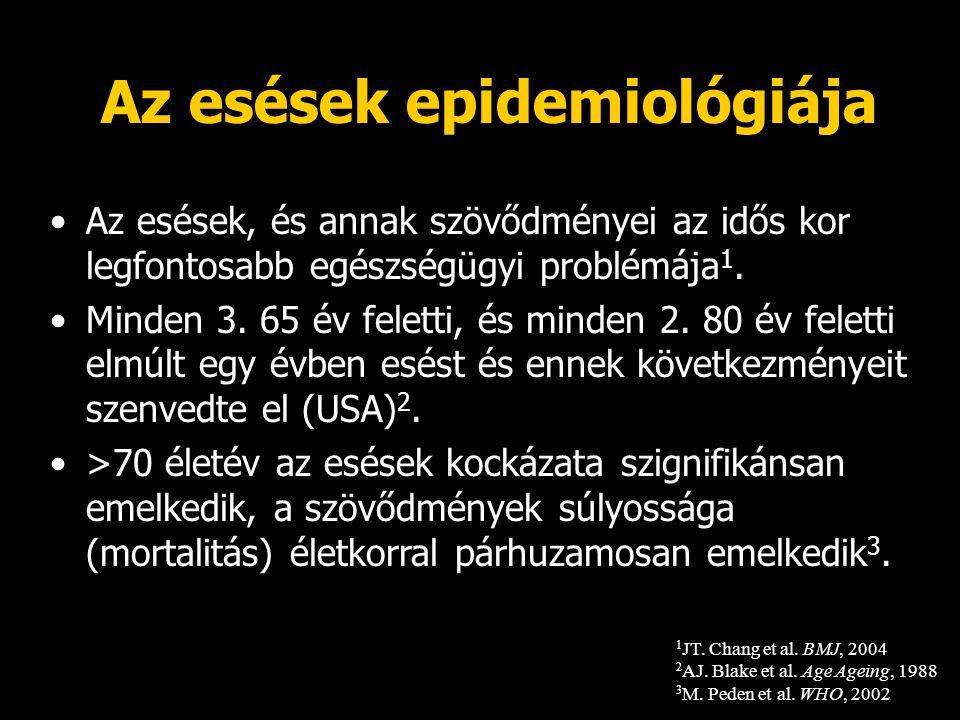 Az esések epidemiológiája