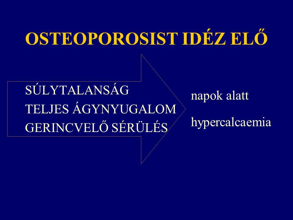 OSTEOPOROSIST IDÉZ ELŐ