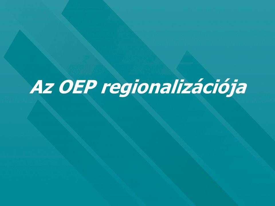 Az OEP regionalizációja