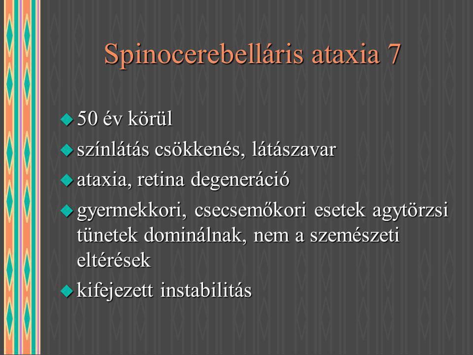Spinocerebelláris ataxia 7