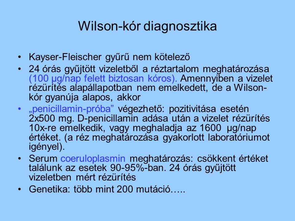 Wilson-kór diagnosztika