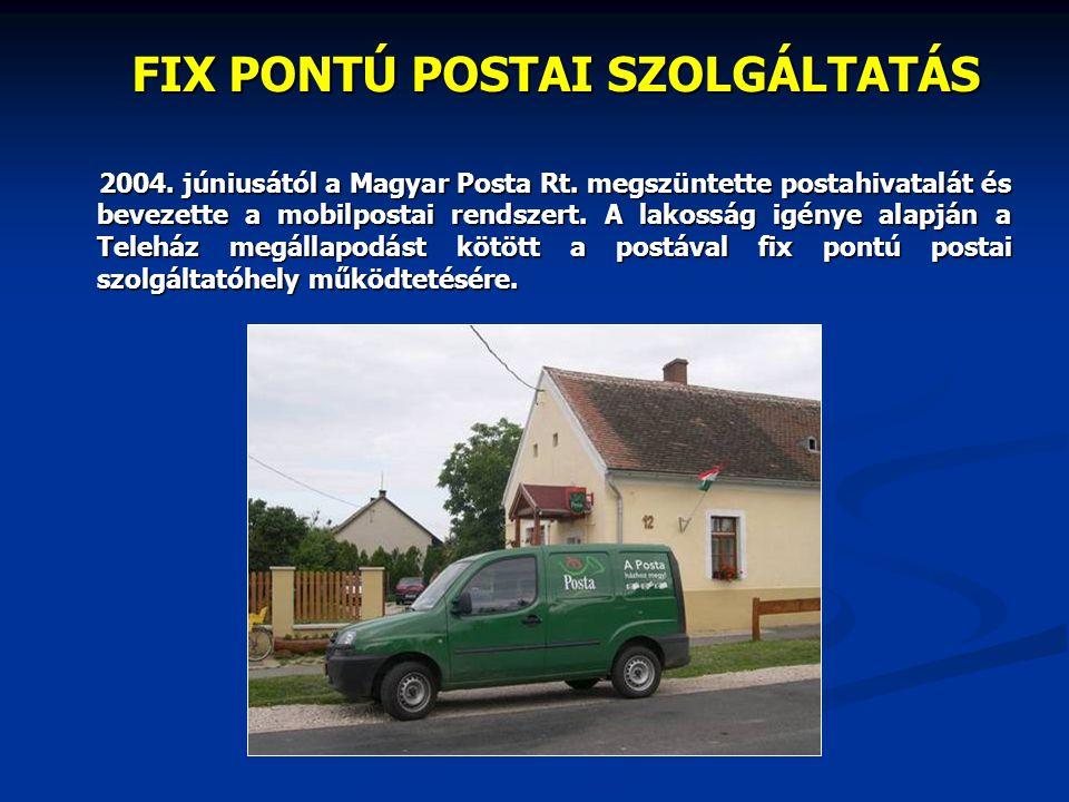 FIX PONTÚ POSTAI SZOLGÁLTATÁS