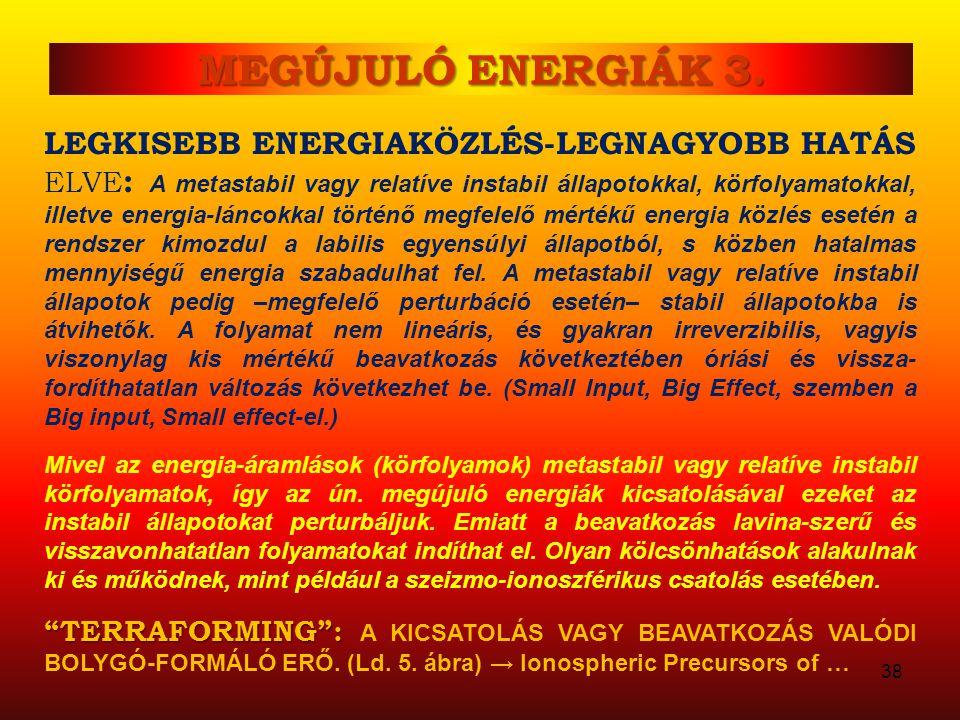 MEGÚJULÓ ENERGIÁK 3.