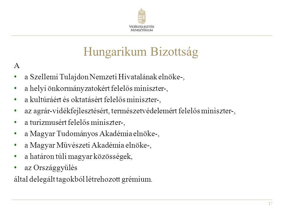 Hungarikum Bizottság A