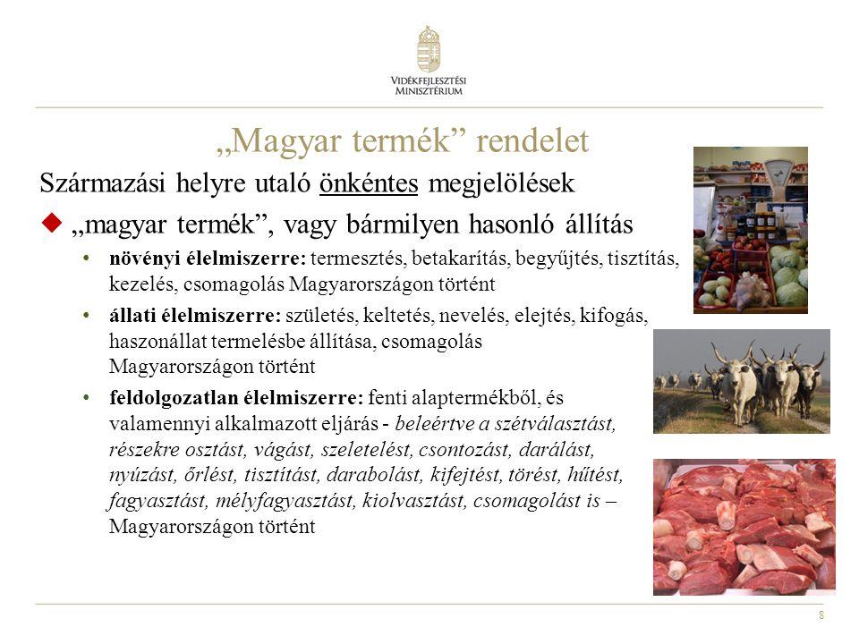 """""""Magyar termék rendelet"""