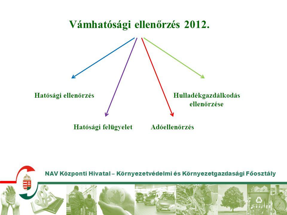 Vámhatósági ellenőrzés 2012. Hulladékgazdálkodás ellenőrzése