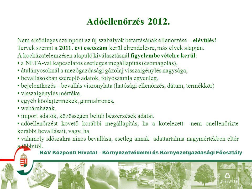 Adóellenőrzés 2012. Nem elsődleges szempont az új szabályok betartásának ellenőrzése – elévülés!