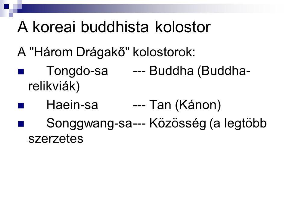 A koreai buddhista kolostor