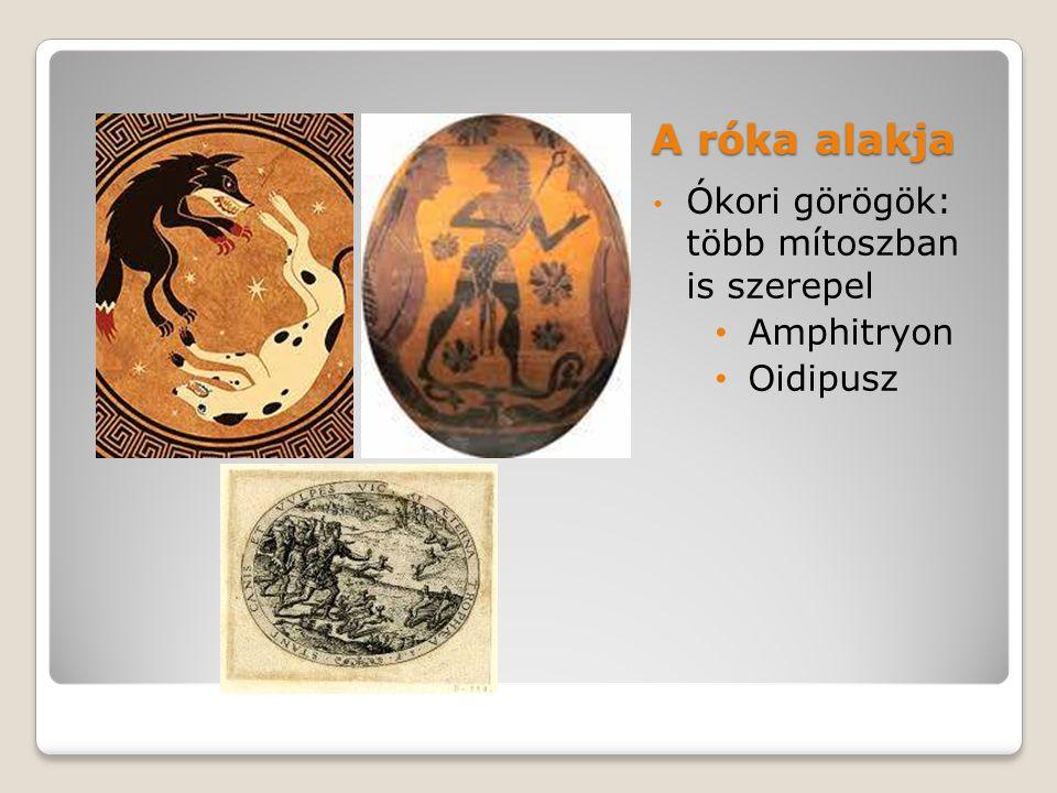 A róka alakja Ókori görögök: több mítoszban is szerepel Amphitryon