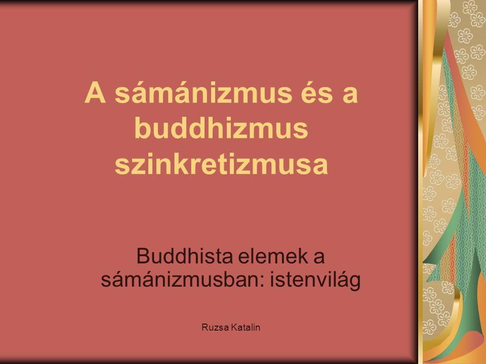 A sámánizmus és a buddhizmus szinkretizmusa