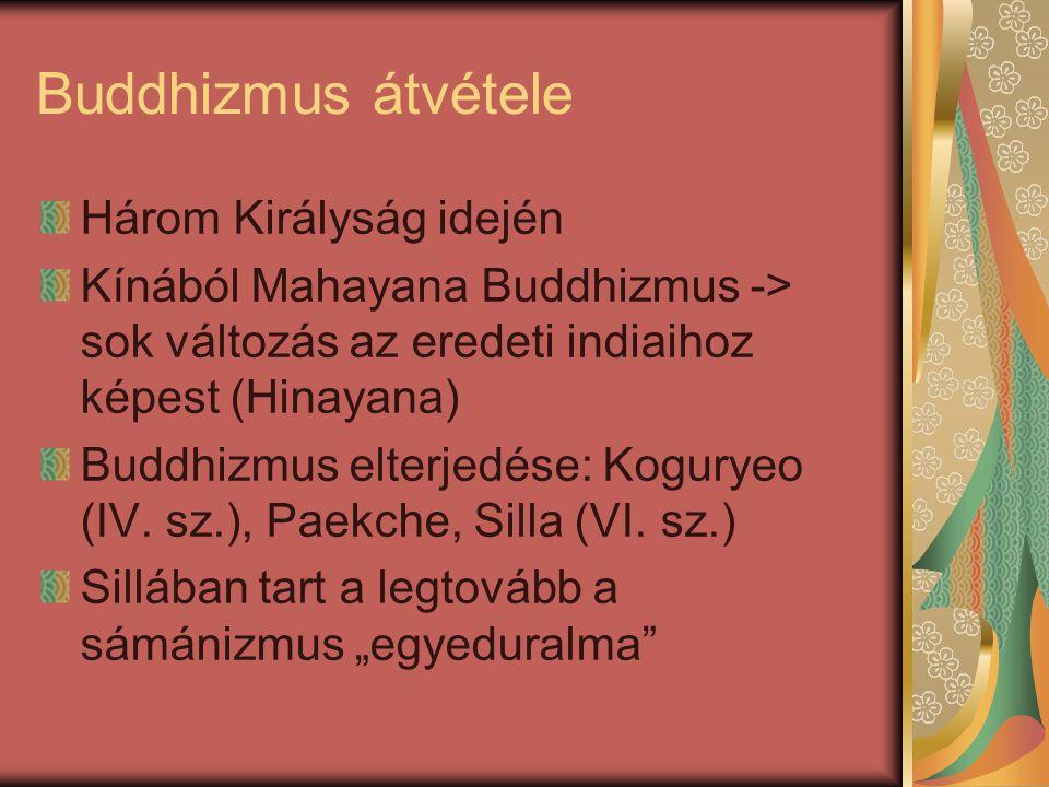 Buddhizmus átvétele Három Királyság idején