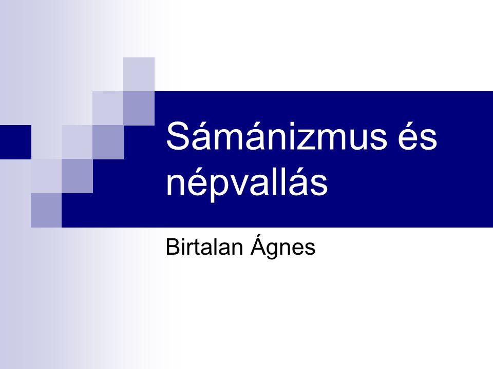 Sámánizmus és népvallás
