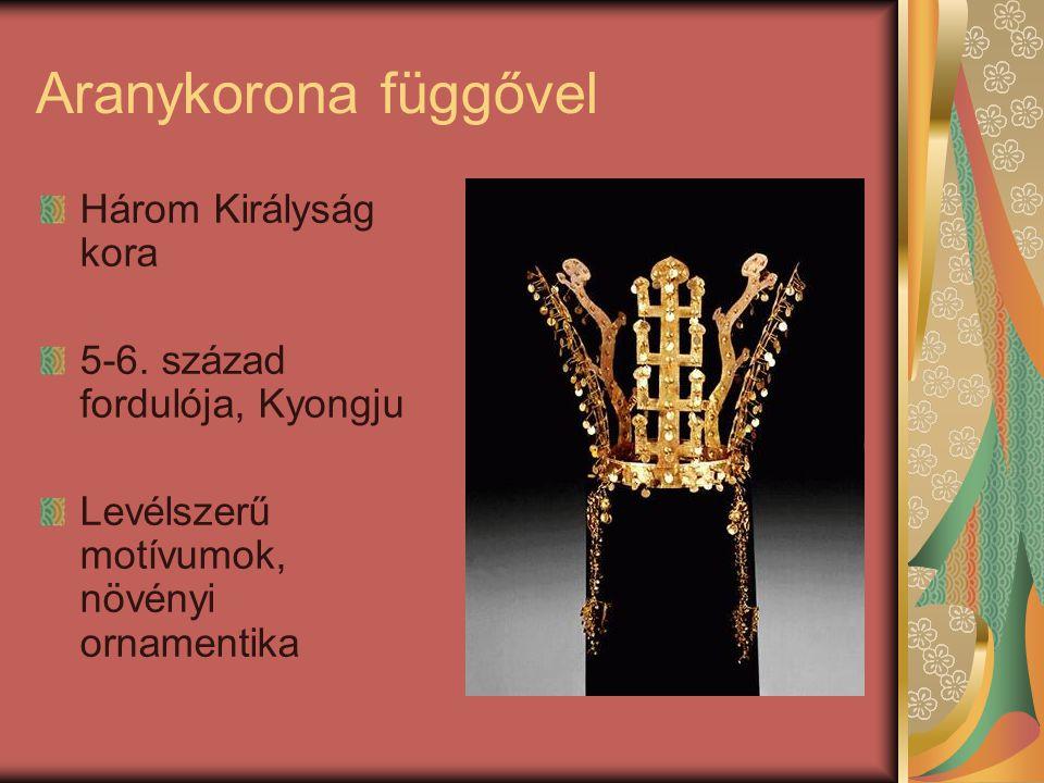 Aranykorona függővel Három Királyság kora