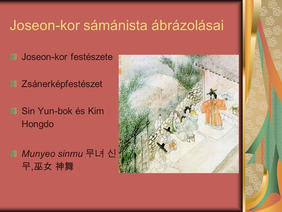 Joseon-kor sámánista ábrázolásai