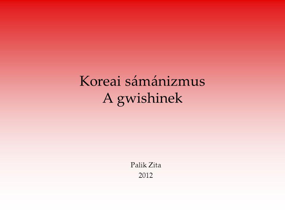 Koreai sámánizmus A gwishinek