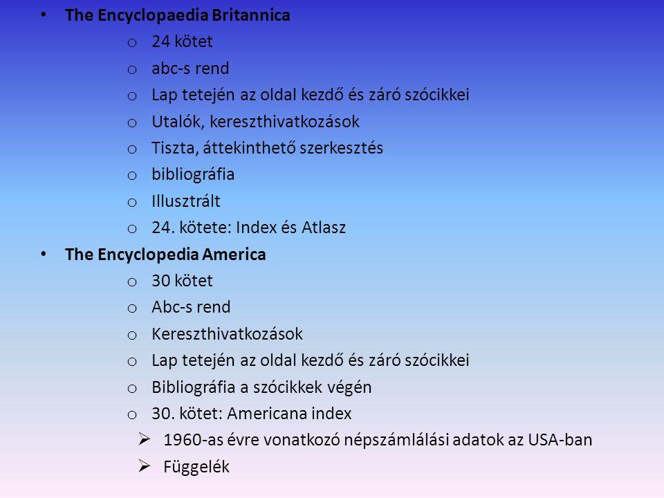 illusztrált The Encyclopaedia Britannica 24 kötet abc-s rend