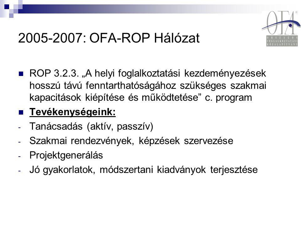 2005-2007: OFA-ROP Hálózat