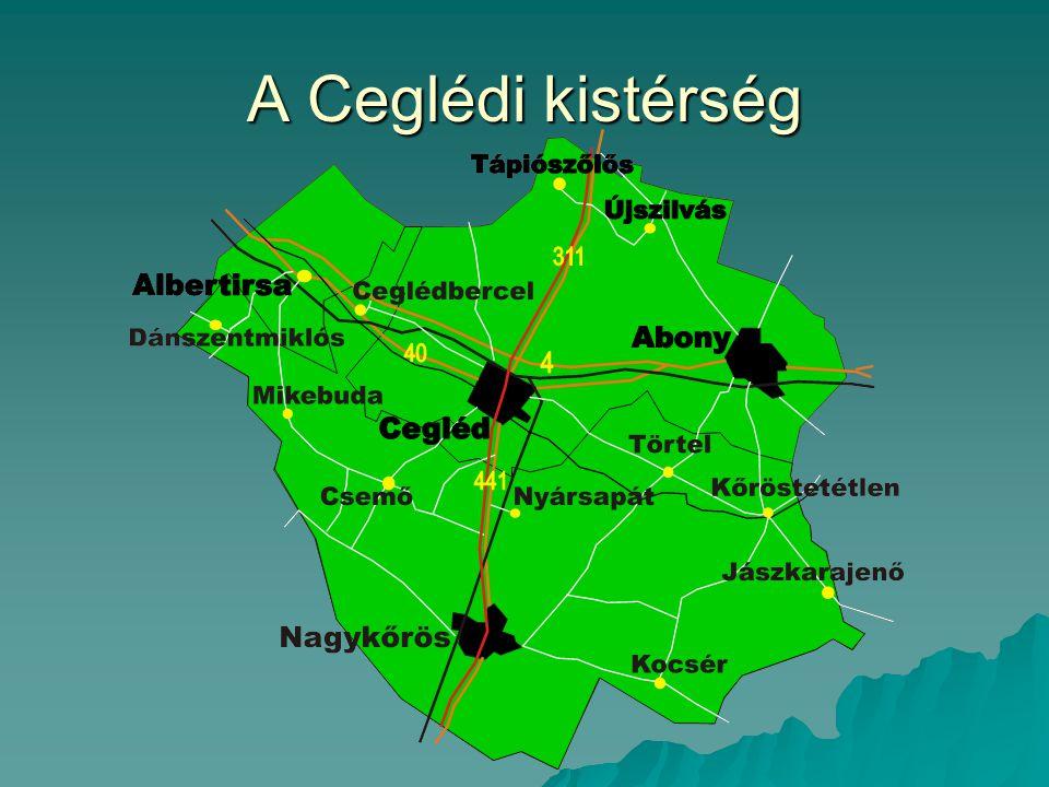 A Ceglédi kistérség