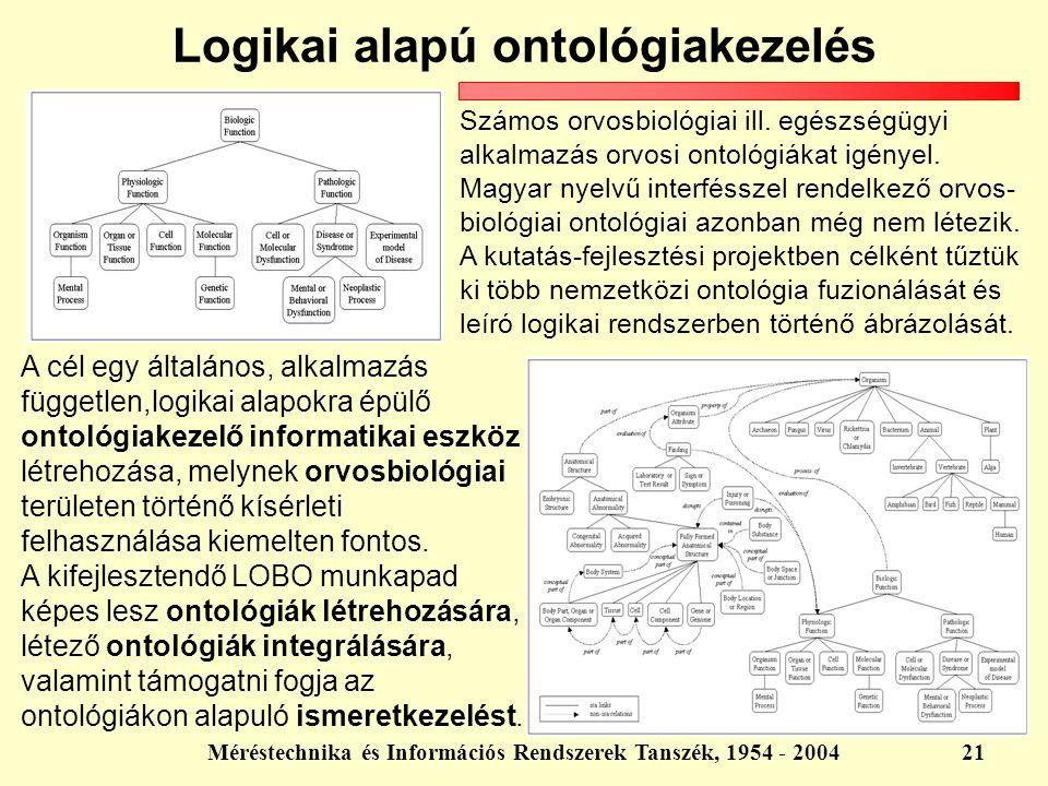 Logikai alapú ontológiakezelés
