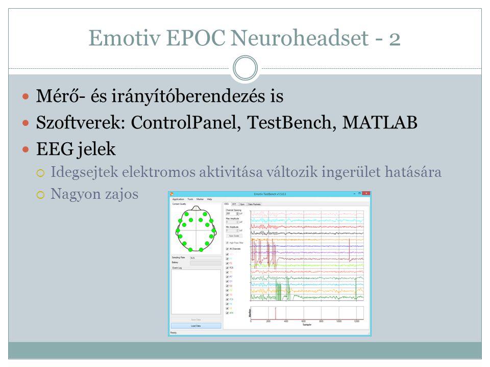 Emotiv EPOC Neuroheadset - 2