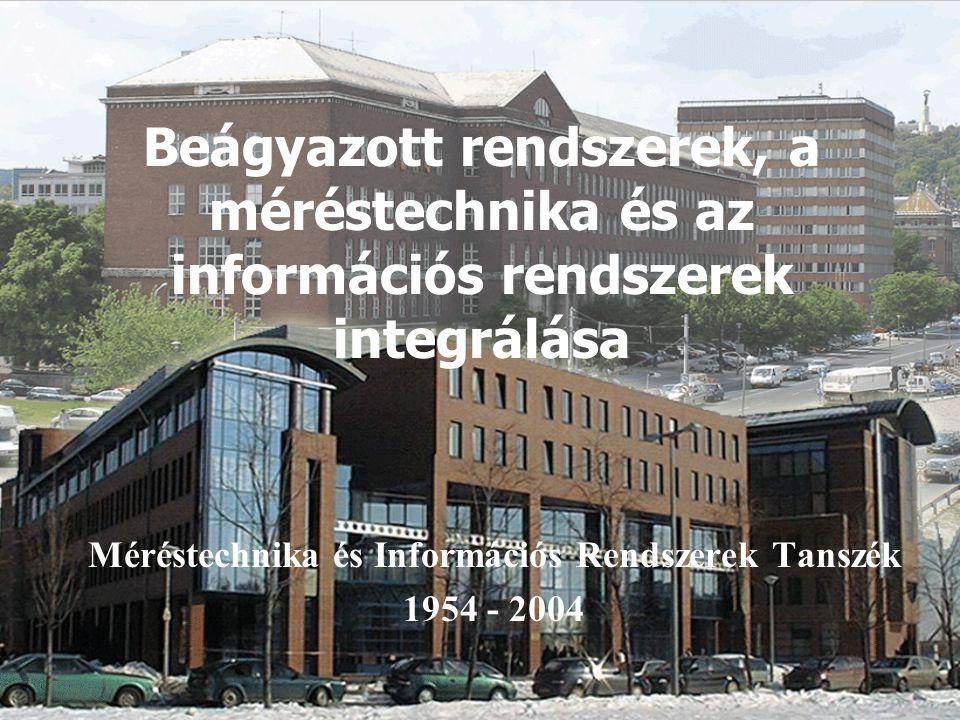 Méréstechnika és Információs Rendszerek Tanszék