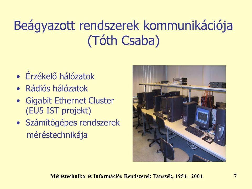 Beágyazott rendszerek kommunikációja (Tóth Csaba)