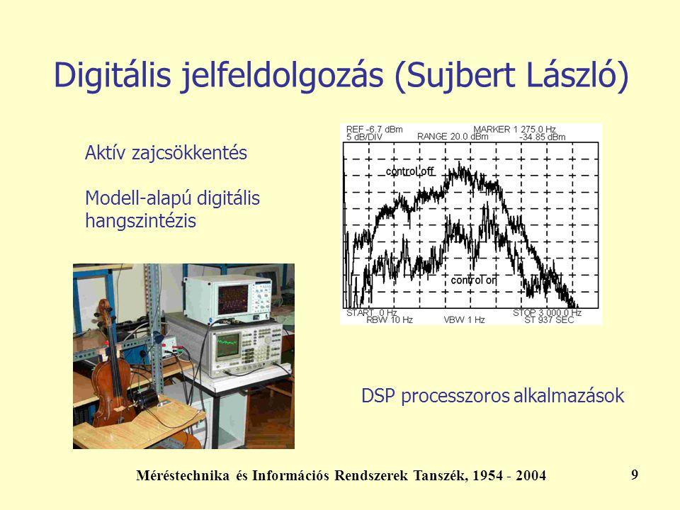 Digitális jelfeldolgozás (Sujbert László)