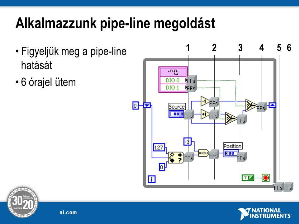 Alkalmazzunk pipe-line megoldást