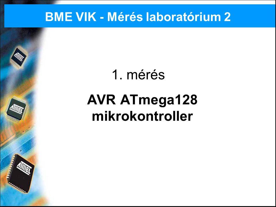 AVR ATmega128 mikrokontroller
