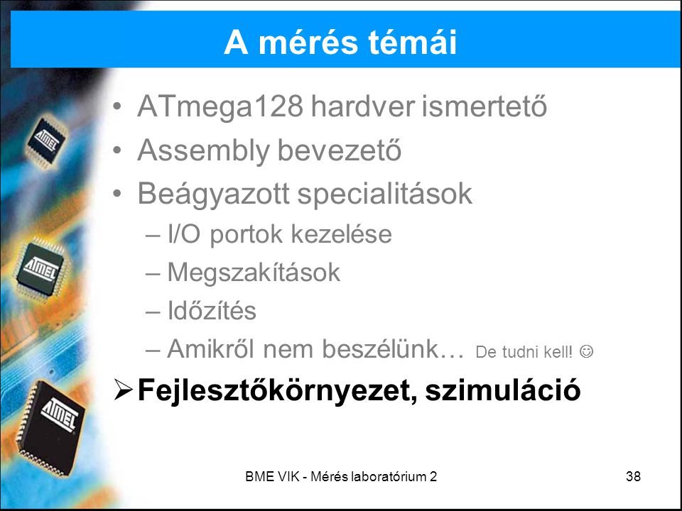BME VIK - Mérés laboratórium 2