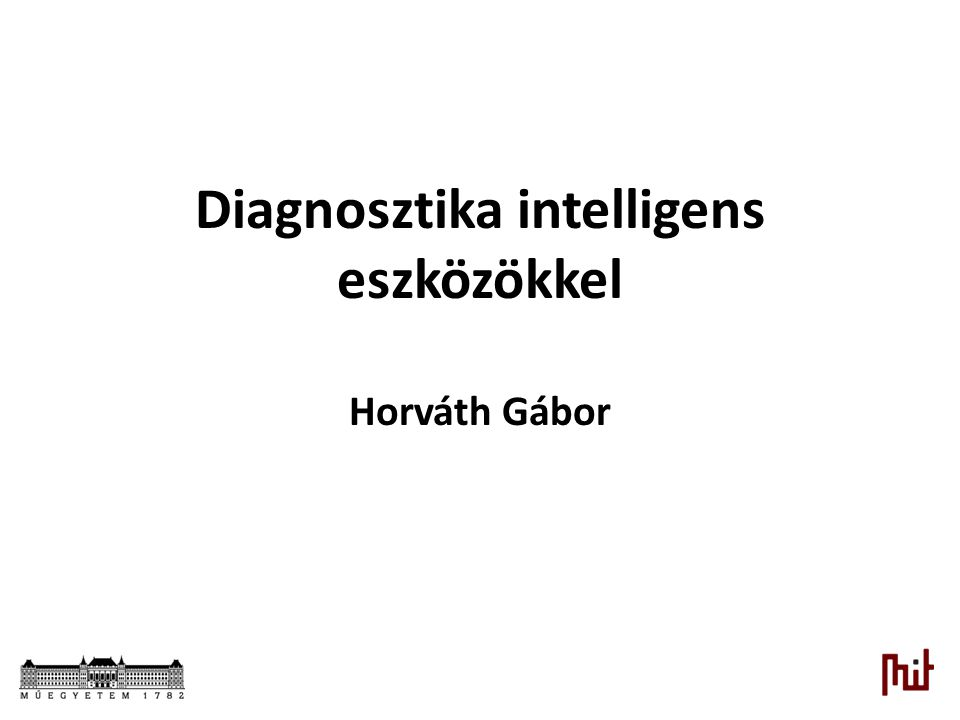 Diagnosztika intelligens eszközökkel