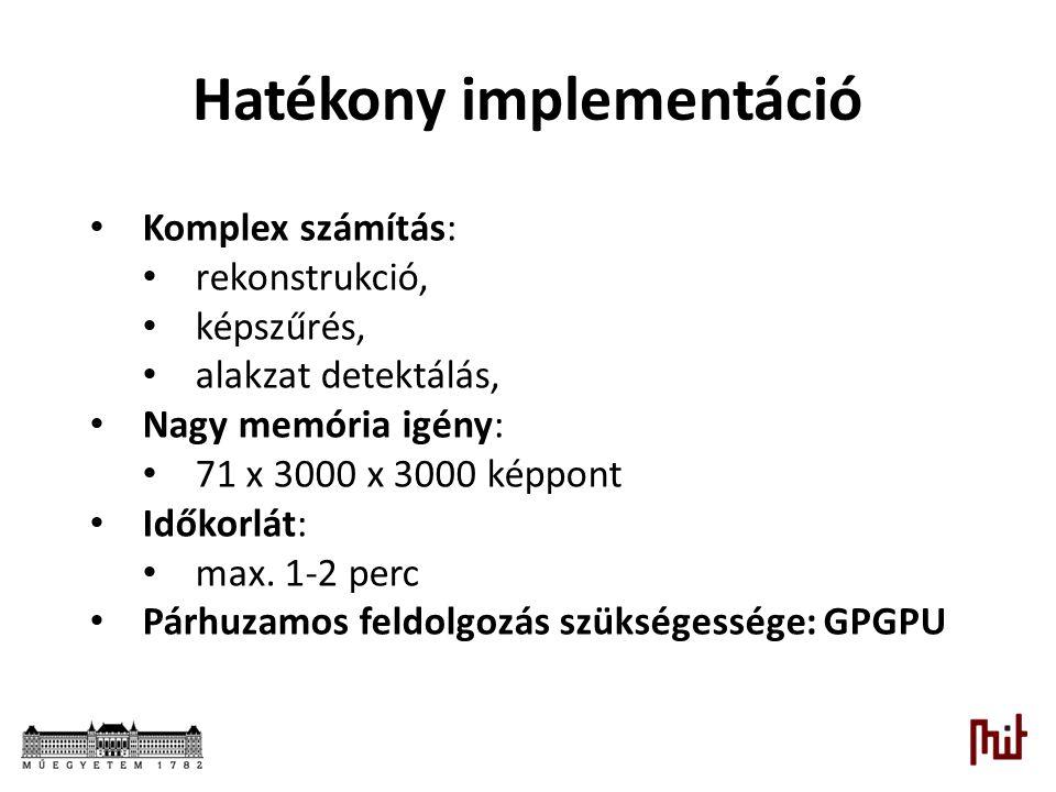 Hatékony implementáció