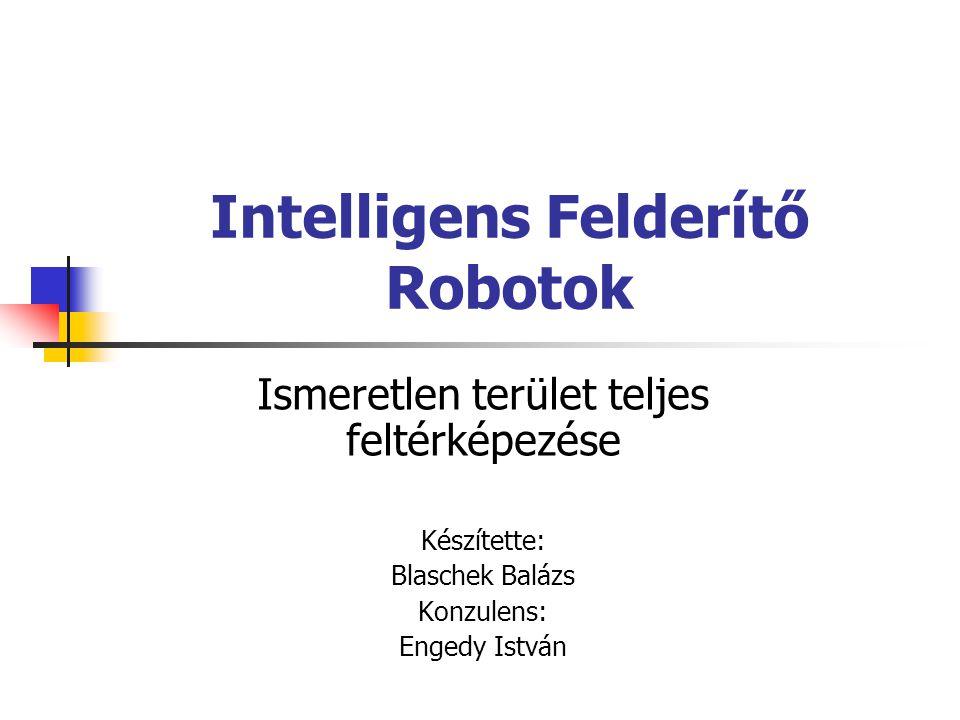 Intelligens Felderítő Robotok