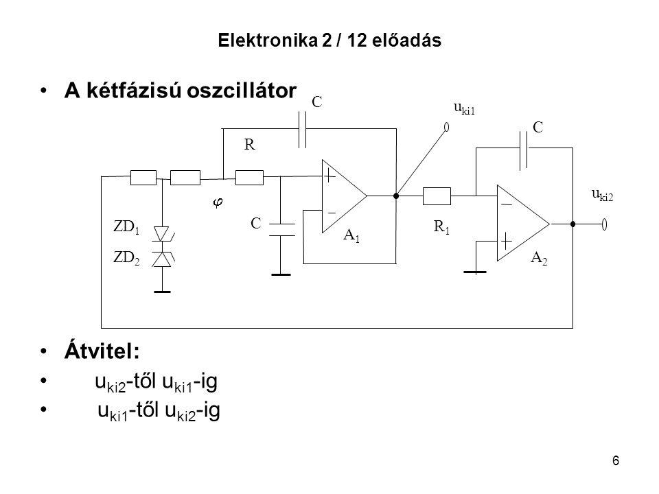 A kétfázisú oszcillátor