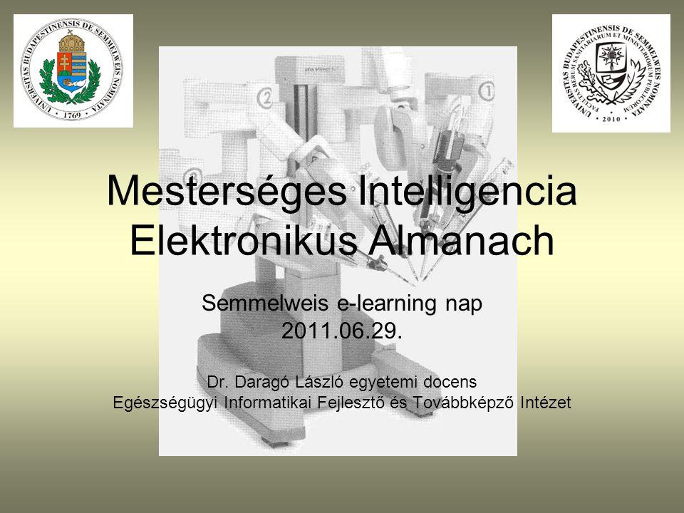 Mesterséges Intelligencia Elektronikus Almanach
