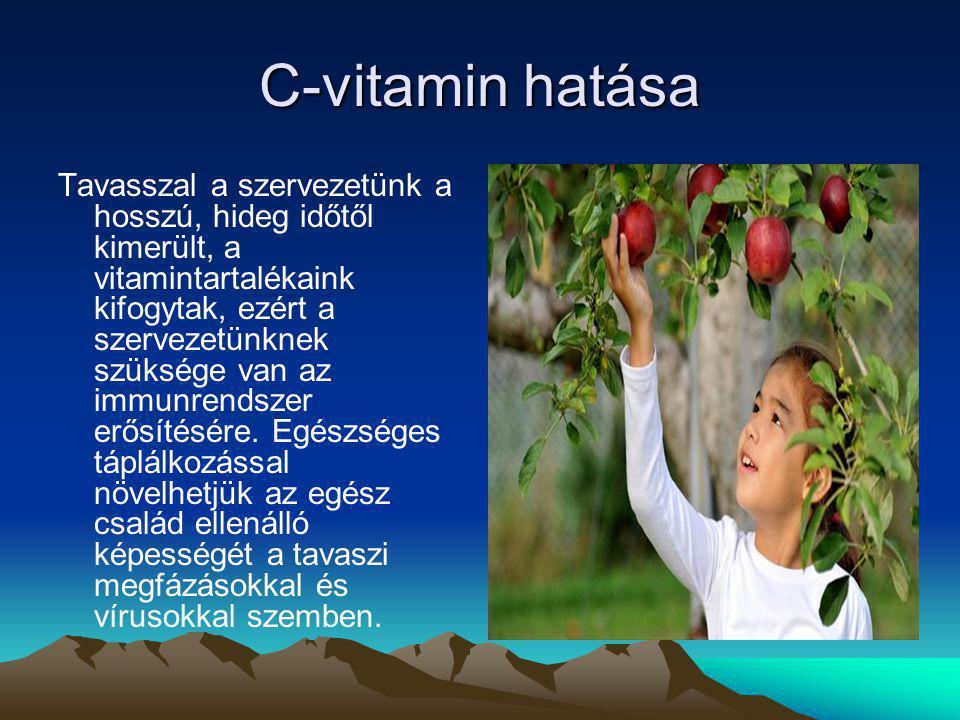 C-vitamin hatása