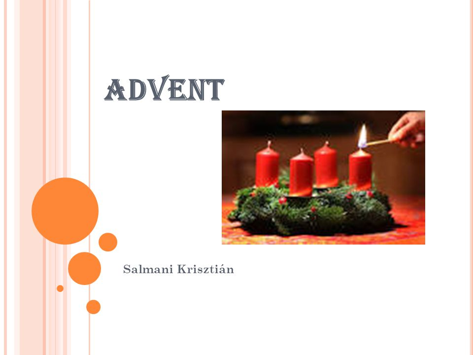 ADVENT Salmani Krisztián