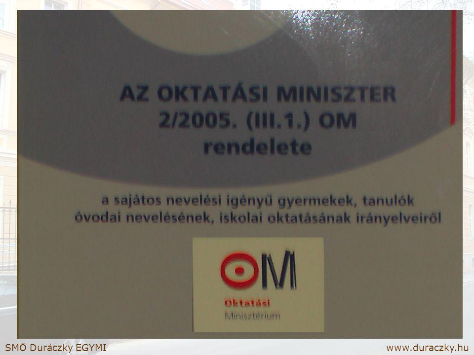 SMÖ Duráczky EGYMI www.duraczky.hu