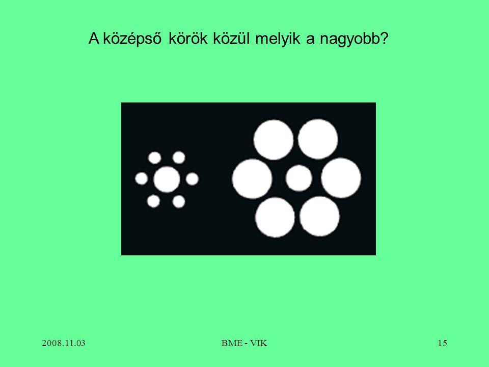 A középső körök közül melyik a nagyobb