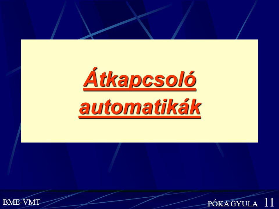 Átkapcsoló automatikák