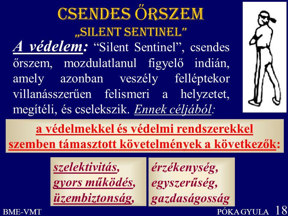 """CSENDES ŐRSZEM """"Silent Sentinel"""