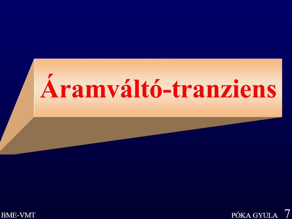 Áramváltó-tranziens
