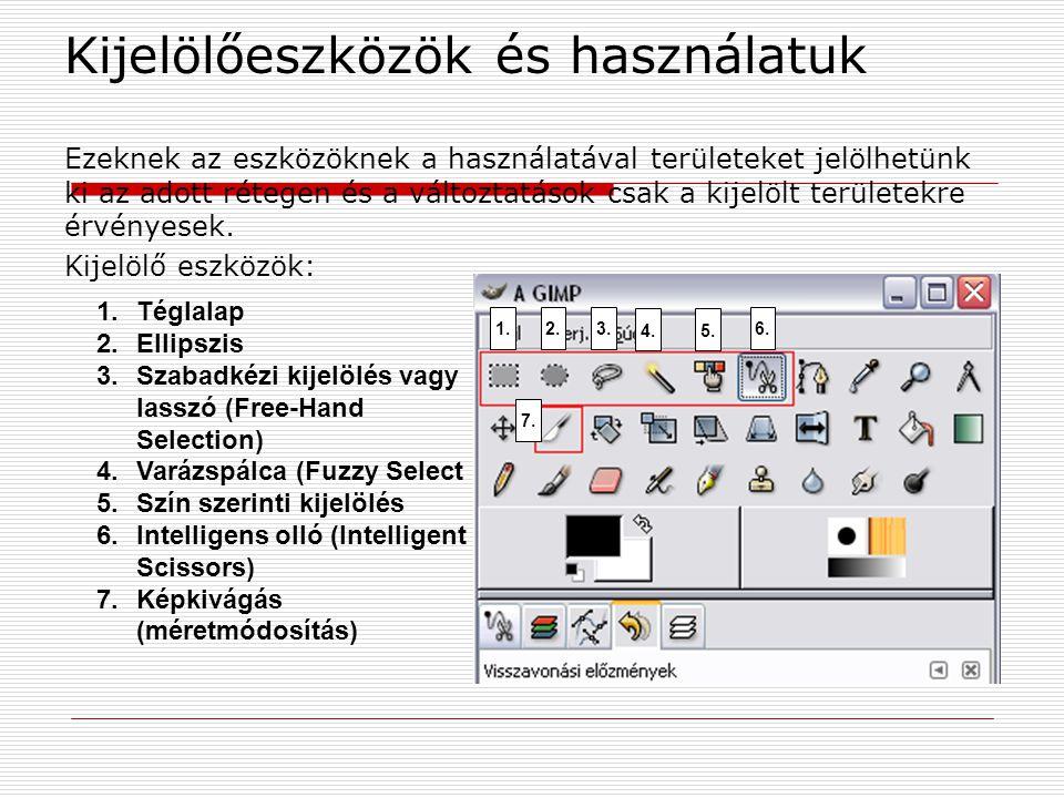 Kijelölőeszközök és használatuk