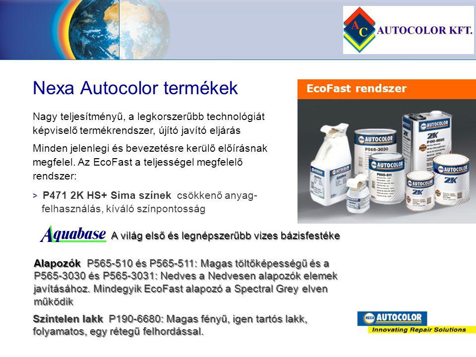 Nexa Autocolor termékek
