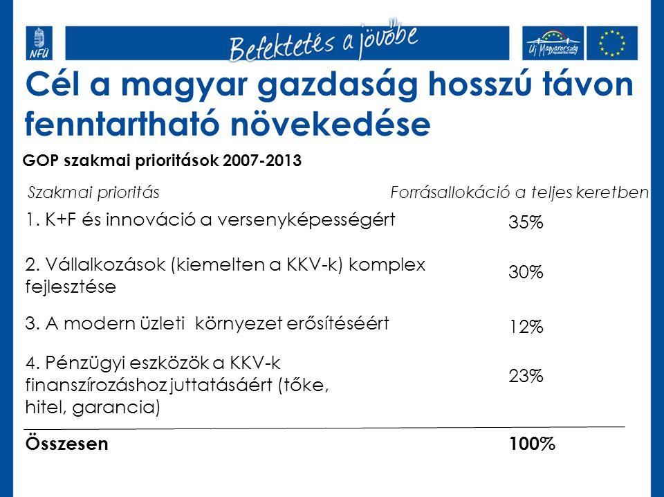 Cél a magyar gazdaság hosszú távon fenntartható növekedése