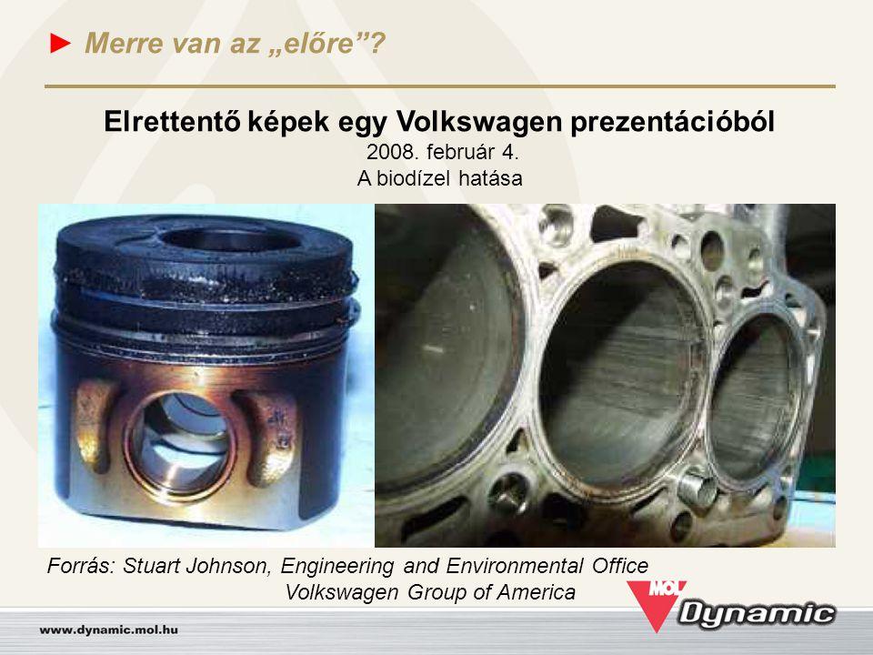 Elrettentő képek egy Volkswagen prezentációból