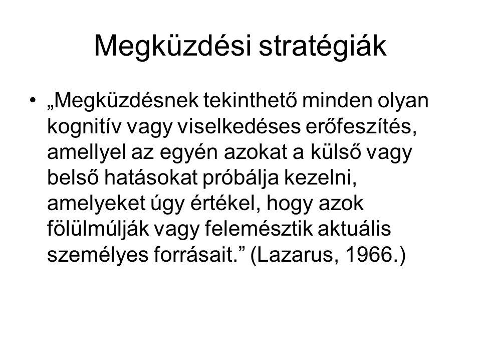 Megküzdési stratégiák