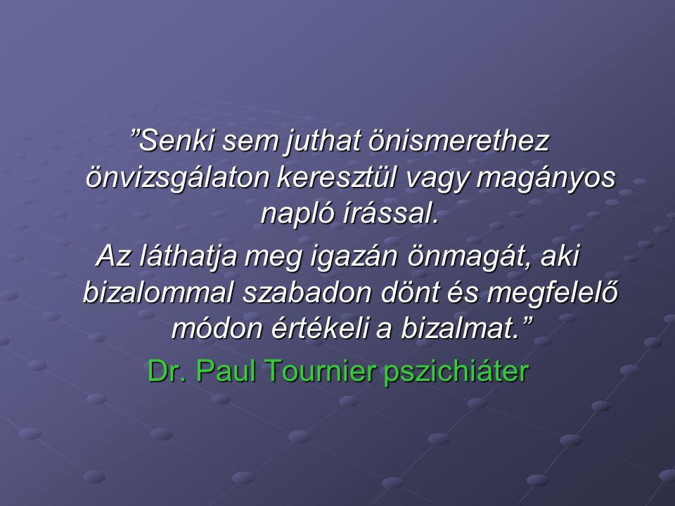 Dr. Paul Tournier pszichiáter